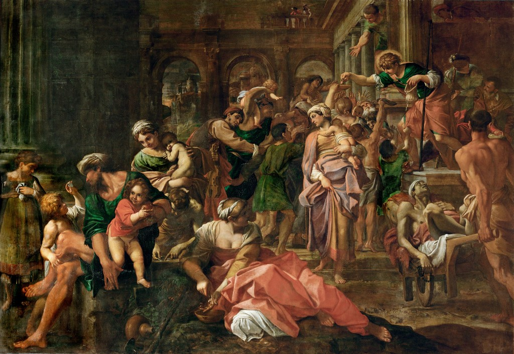 Main Image: 'St Roch healing the Sick' Annibale Carracci | Image credit: Artstor